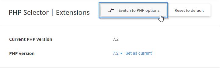 Cambiar los valores de PHP
