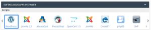 Instalar WordPress desde cPanel