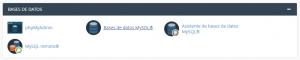 Acceder a la base de datos en cPanel