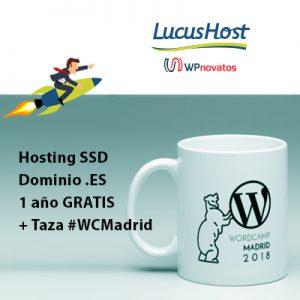 sorteo taza wcmadrid hosting ssd dominio