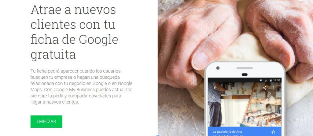 Cómo registrarse en Google My Business