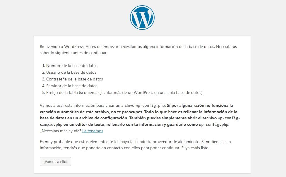 Instalar WordPress en Hosting