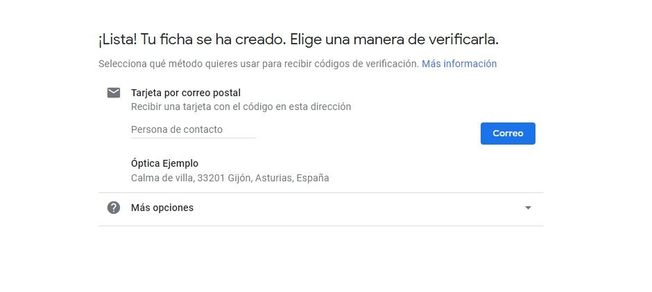 Verifica la propiedad de tu empresa en Google My Business