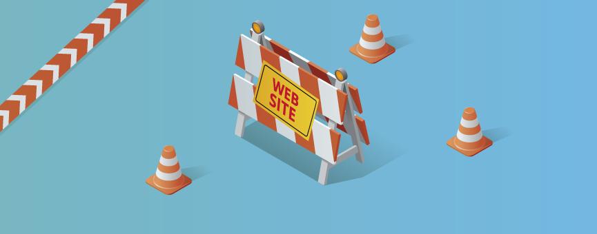 Cómo crear una página en construción