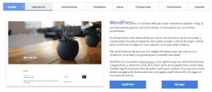 Instalar WordPress desde cPanel paso 1