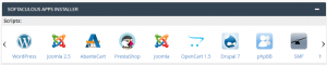 Instalar WordPress desde cPanel con Softaculous