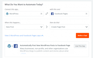 Conectar WordPress con Facebook: 1º paso