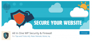Plugins seguridad WordPress All in One WP Security