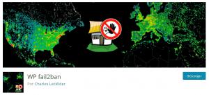Plugins seguridad WordPress WP Fail2ban