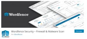 Plugins seguridad WordPress Wordfence Security
