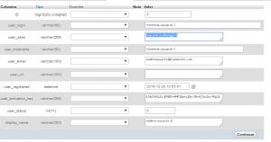 Cambiar contraseña WordPress desde cPanel (paso 3)