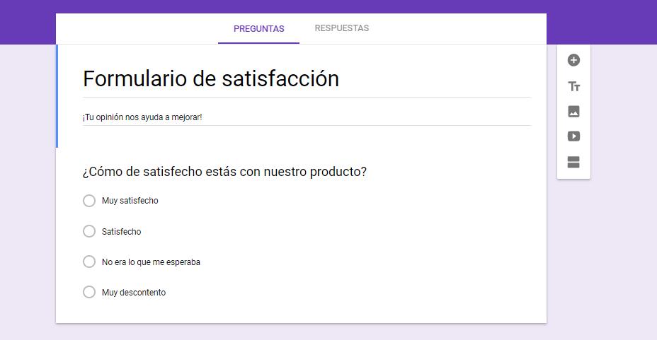 Cómo añadir una encuesta a WordPress con los Formularios de Google: Paso 1