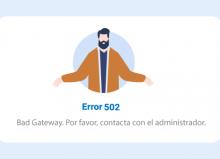 502 Bad Gateway: Cómo solucionar el error 502 en WordPress