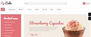 Plantillas para PrestaShop: Ap Cake