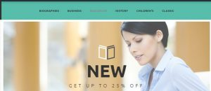 Plantillas para PrestaShop: Book Handover