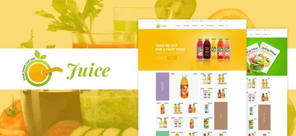Plantillas para PrestaShop: Juice