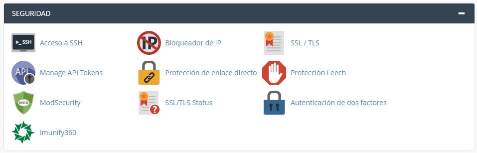 Bloqueador de IPs en cPanel
