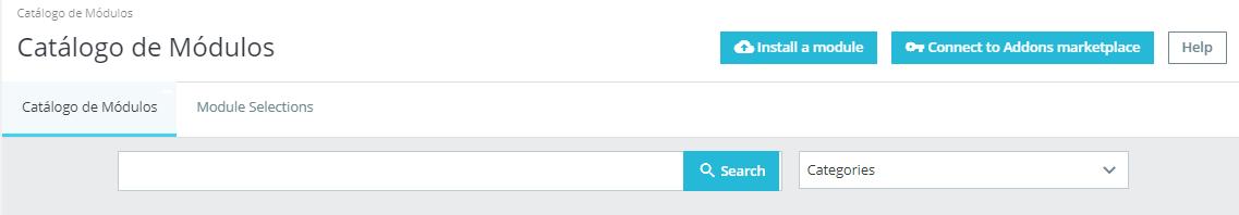 Instalar un módulo en PrestaShop con el autoinstalador