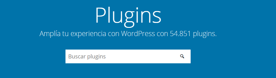 Repositorio oficial de WordPress
