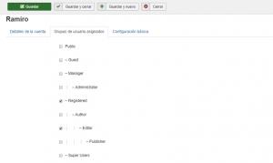 Cómo crear usuarios en Joomla
