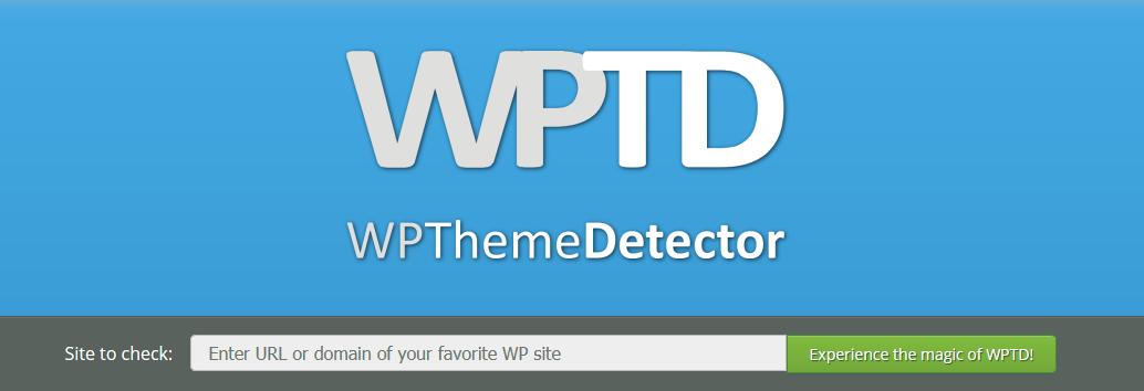 Saber qué plantilla usa una web con WP Theme Detector