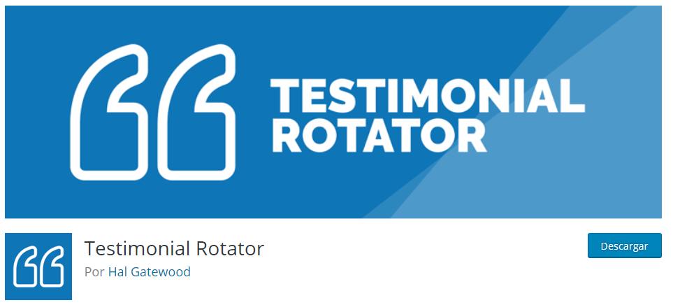 Plugin Testimonial Rotator
