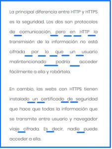 Espacios vacíos en un texto justificado en WordPress