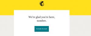 Verificar cuenta de correo en Mailchimp