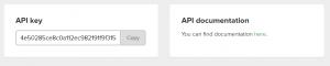 Obtener la clave API en MailerLite para conectarlo con WordPress