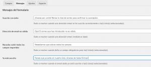 Crear un formulario de suscripción con Mailchimp for WordPress: Paso 2