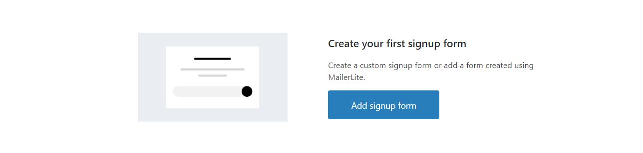 Crear un formulario de suscripcion con el plugin MailerLite para WordPress