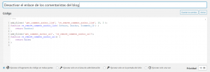 Plugin Code Snippets