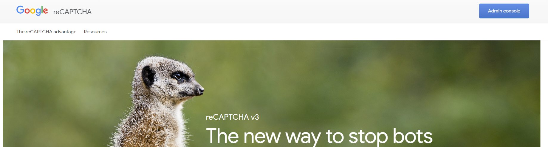 Acceder a Google reCAPTCHA para registrar WordPress