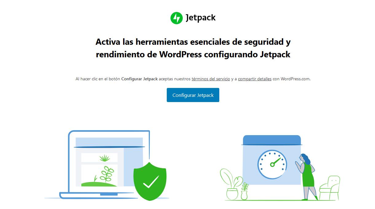 Conectar Jetpack con WordPress.com