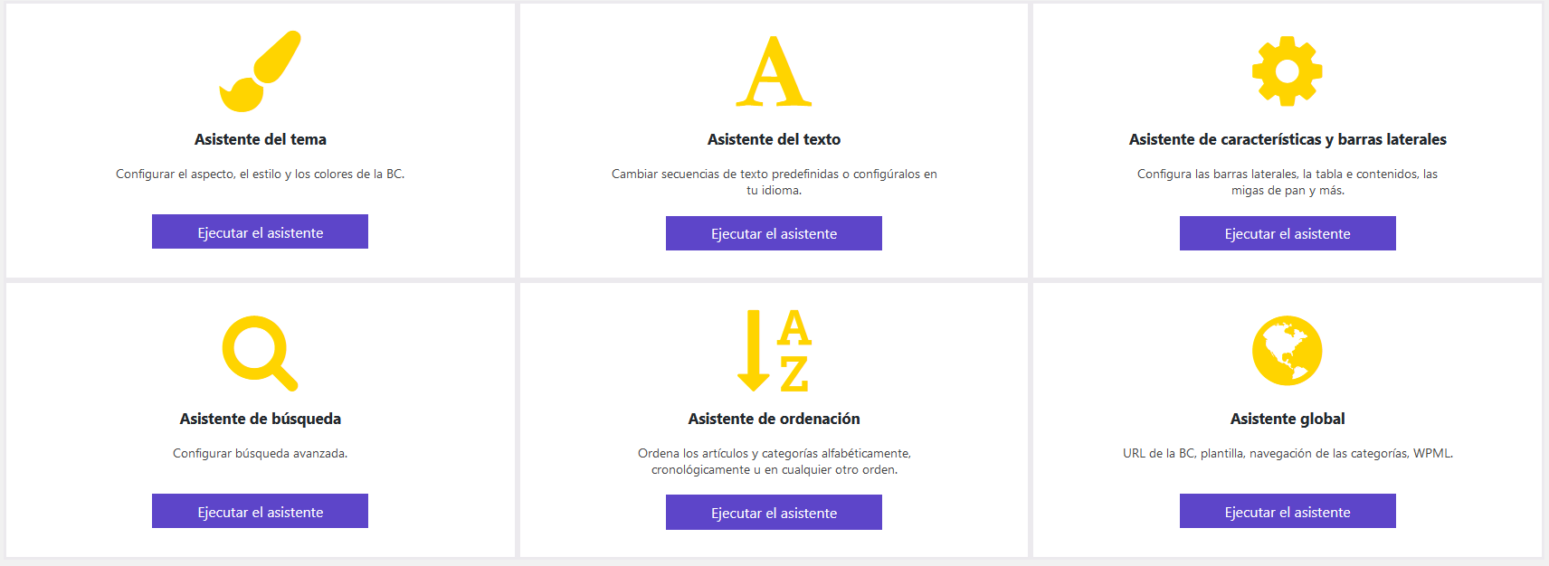 Configuración del Plugin Knowledge Base for Documentation & FAQs
