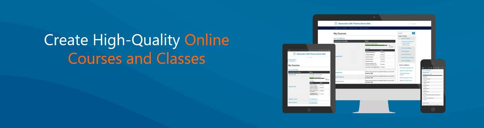 Namaste: plugin de cursos online para WordPress