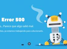 HTTP error 500: Qué es y cómo solucionarlo