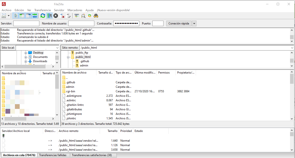 Instalar Moodle por FTP a un hosting