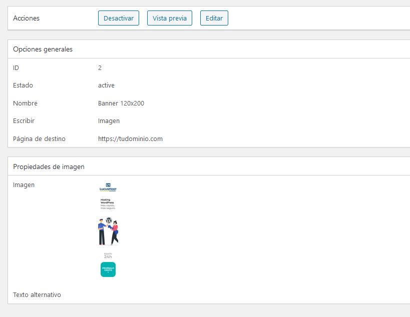 Gestionar creatividades con el plugin Affiliates Manager de WordPress