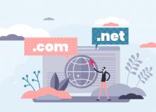 ¿Cuál es la diferencia entre un dominio .com y .net?