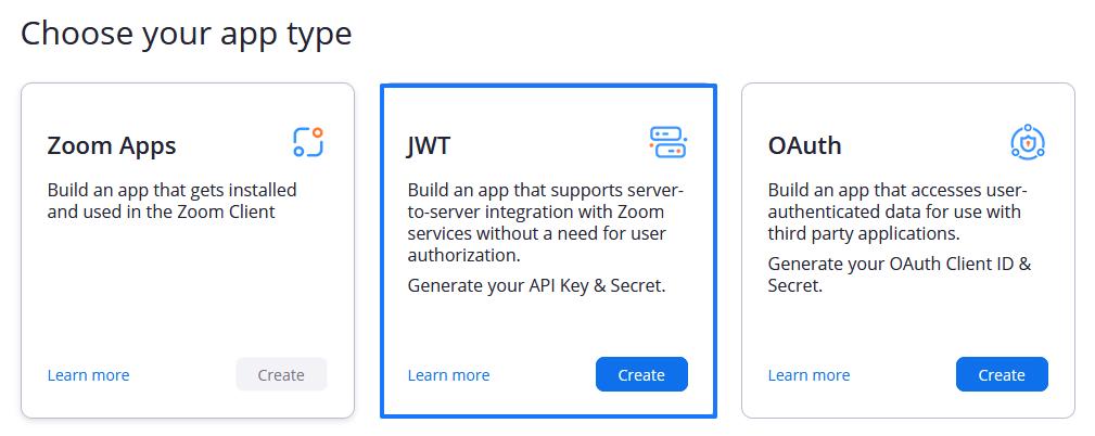 Elegir una aplicación en el marketplace de Zoom
